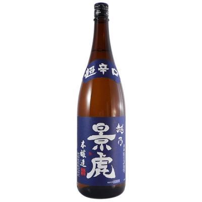 越乃景虎 本醸造 超辛口 1800ml