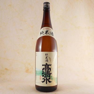 高清水 純米酒 酒乃国 1800ml