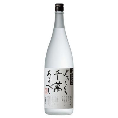 八海山 米焼酎 宜有千萬 1800ml
