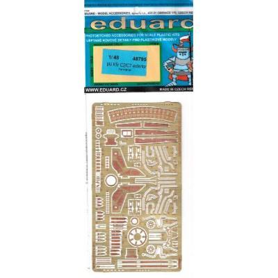 IAI クフィル C2/ C7 外装パーツセット (AMK1/48用) (1/48スケール エッチングパーツ EDU48795)の商品画像