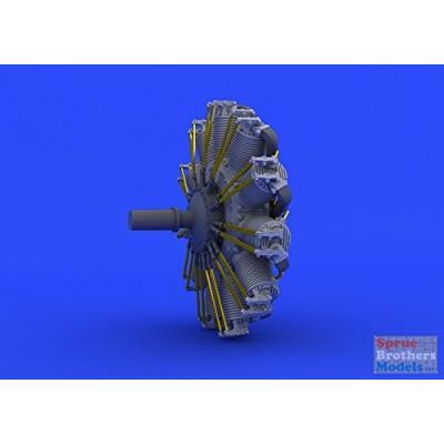 SSW D.III エンジン エデュアルド用 (1/48スケール アクセサリーパーツ ブラッシン EDU648166)の商品画像