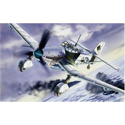 ユンカース Ju87 D-5 スツーカ (1/72スケール 航空機モデル1070 39070)の商品画像