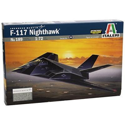 F-117A ナイトホーク (1/72スケール 航空機モデル 0189 39189)の商品画像