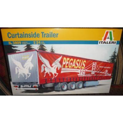 カーテンサイド トレーラー (1/24スケール トラック 3809 38809)の商品画像