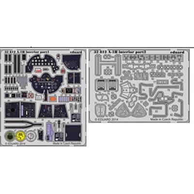 F4U-1 バードケージ コルセア 内装 カラーエッチングパーツ (接着剤付) (1/32スケール カラーエッチングパーツ EDU32781)の商品画像
