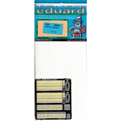 マーリン HC.3 シートベルト (エアフィックス1/48用) (1/48スケール エッチングパーツ EDU49649)の商品画像