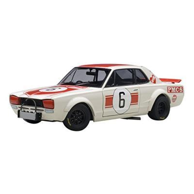 ニッサン スカイライン GT-R (KPGC10) レースカー 1971 #6 (日本グランプリ優勝 / 高橋国光) (1/18スケール 87176)の商品画像