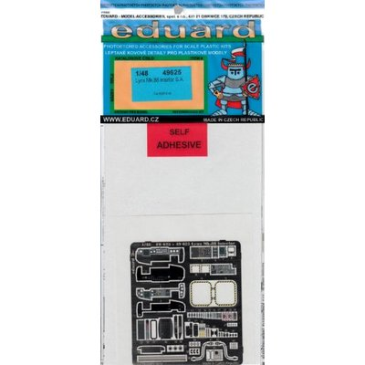 リンクス Mk.88 内装 カラーエッチングパーツ (接着剤付) (1/48スケール カラーエッチングパーツ EDU49625)の商品画像