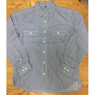 メンズ長袖シャツ、カジュアルシャツ