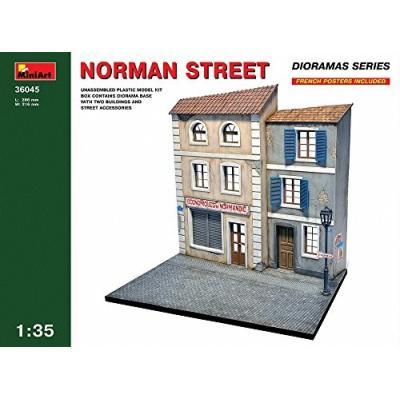 ジオラマベ-ス45 ノルマン ストリート (1/35スケール MA36045)の商品画像