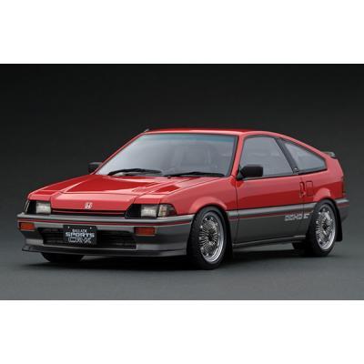Honda BALLADE SPORTS CR-X Si (E-AS) Red/Silver (1/18スケール IG1627)の商品画像