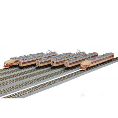 ロクハン 国鉄485系特急形電車 初期型「ひばり」国鉄色(クロ481)6両基本セット T030-1の商品画像