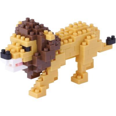 ナノブロック ライオン NBC_170の商品画像