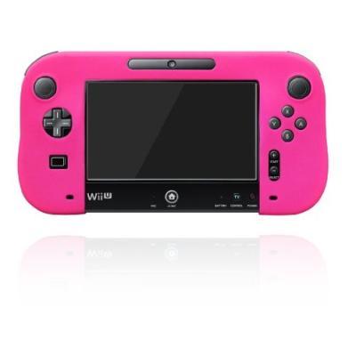 シリコンカバー for Wii U GamePad ピンクの商品画像