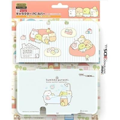 キャラクターPCカバー for new ニンテンドー3DS LL すみっコぐらし すみっコハウス ILXNL176の商品画像