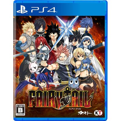 【PS4】 FAIRY TAIL [通常版]の商品画像
