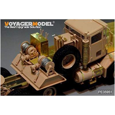 現用アメリカ軍M911C-HET&M747トレーラー (モンモデルSS-013用) (1/35スケール ディテールアップパーツ PE35951)の商品画像