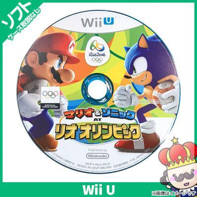【Wii U】 マリオ&ソニック AT リオオリンピックの商品画像