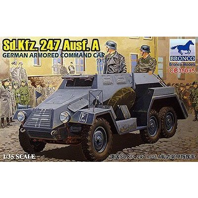 ドイツ Sd.kfz.247 Ausf.A 六輪装甲指揮車 (1/35スケール CB35095)の商品画像