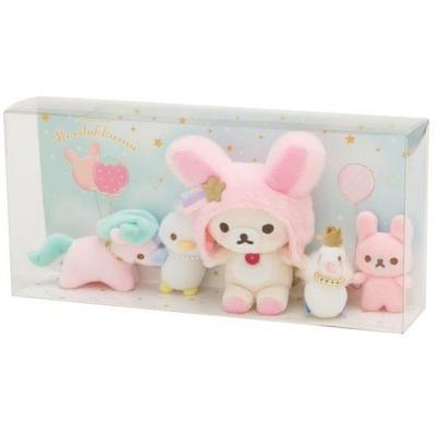 リラックマ コリラックマのおもちゃセット(コリラックマのふんわりかわいい夢) MR87301の商品画像