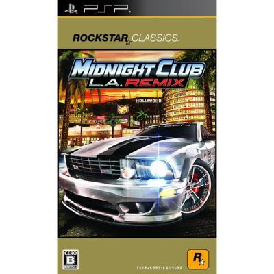 【PSP】 ロックスター・クラシックス ミッドナイト クラブ: L.A. リミックスの商品画像