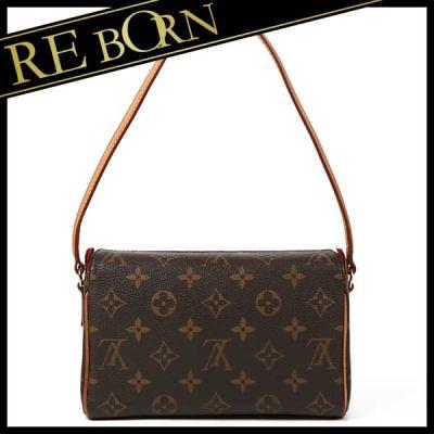 ルイヴィトン LOUIS VUITTON バッグ美品 レシタル モノグラム ショルダー バッグ ハンドバッグ