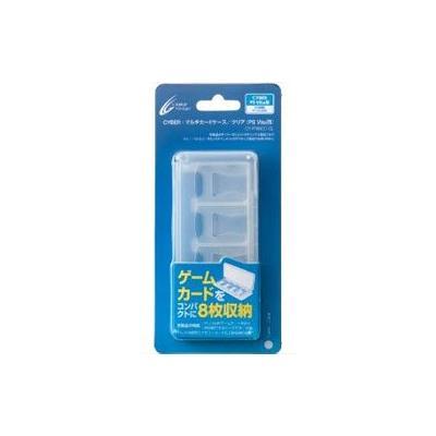 CYBER・マルチカードケース クリア (PS Vita用)の商品画像