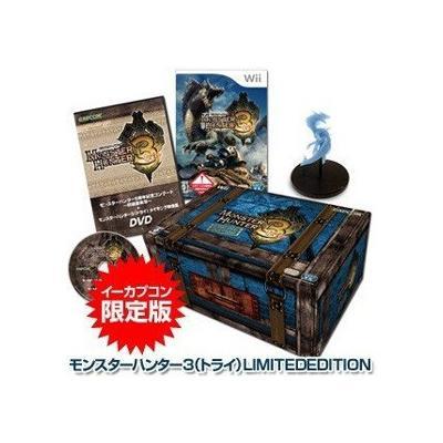 【Wii】 モンスターハンター3 (トライ) LIMITED EDITIONの商品画像