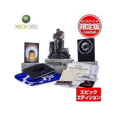 【Xbox360】 GEARS of WAR 3 (ギアーズ オブ ウォー 3) [エピックエディション]の商品画像