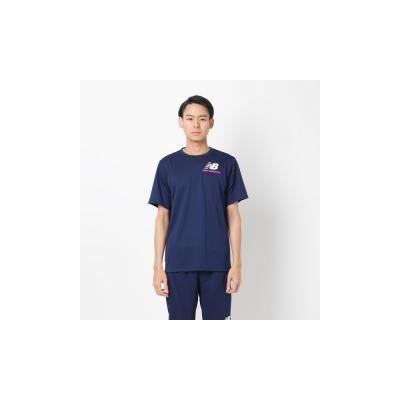 bd26636ffed12 New Balance ニューバランス Tシャツ New Balance ニューバランス メンズスポーツウェア 半袖ベーシックTシャツ S S T  スムースニット JMTP9919PGM(4930541100500)の ...
