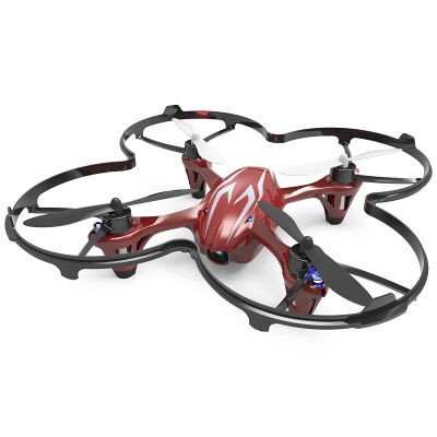 G-FORCE 2.4GHz 4ch Quadcopter X4 HD (ワインレッド) H107C-1の商品画像