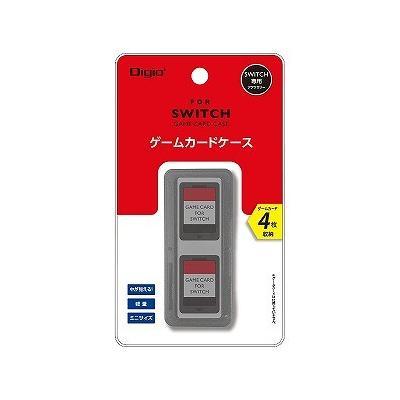 SWITCH用 カードケース 4枚入 ブラック MCC-SWI03BKの商品画像