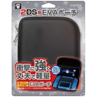 2DS用 EVAポーチ ブラック ALG-2DSEKの商品画像