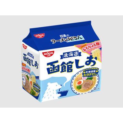 日清のラーメン屋さん 函館しお 5食パック (87g×5食)×1個(計5食)の商品画像
