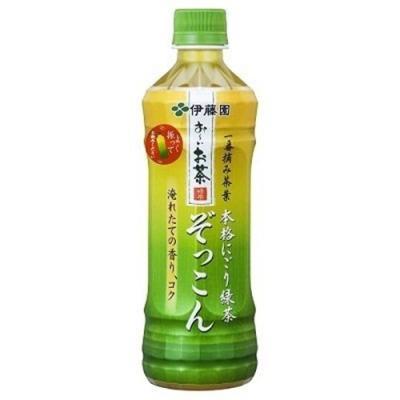 伊藤園 お~いお茶 ぞっこん 500ml × 1本 ペットボトルの商品画像