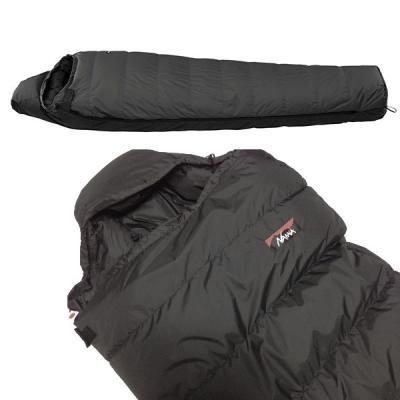 アウトドア マミー型寝袋