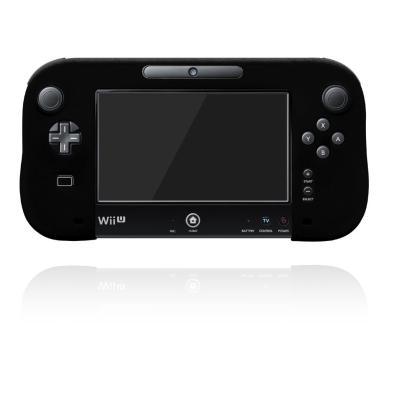 シリコンカバー for Wii U GamePad ブラックの商品画像
