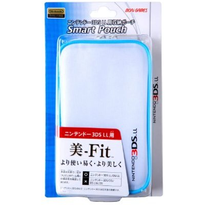 3DS LL スマートポーチ ホワイトの商品画像