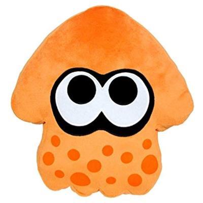 スプラトゥーン クッション イカ(オレンジ) 200129の商品画像