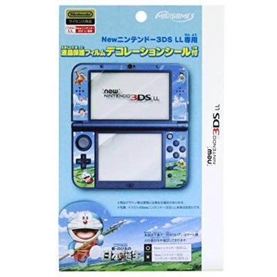 Newニンテンドー3DS LL専用 液晶保護フィルムデコレーションシール付 映画ドラえもん2016 REDG-04DREの商品画像