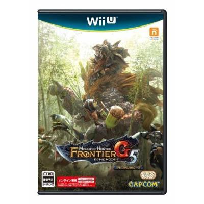 【Wii U】 モンスターハンター フロンティアG5 プレミアムパッケージの商品画像