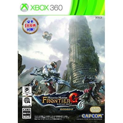 【Xbox360】 モンスターハンター フロンティアG6 プレミアムパッケージの商品画像