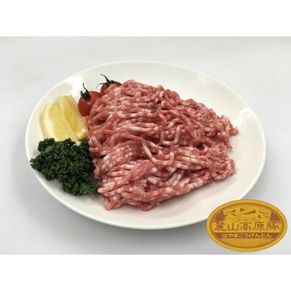 ブランド豚 麓山高原豚 国産 豚 ひき肉 400g ( 200g×2 ) 029yasan