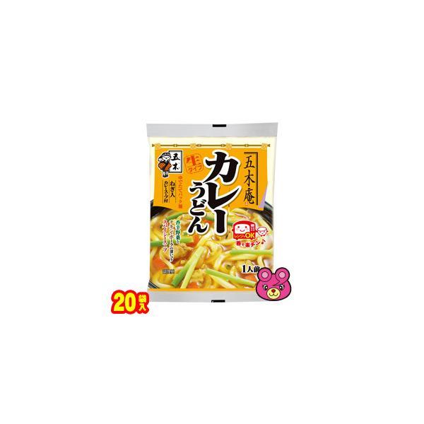 五木食品 五木庵 カレーうどん 225g×20袋 /食品