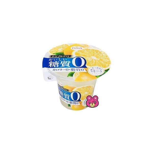 .長崎発 たらみ トリプルゼロ おいしい糖質0シリーズ グレープフルーツ 195g×6個入×6ケース 合計36個 ゼロカロリー /食品/HF