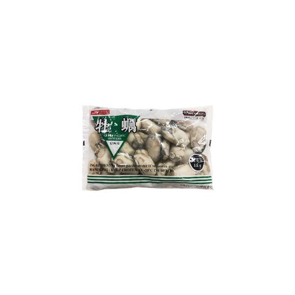 広島産 冷凍牡蠣 L 1kg(解凍後850g) かき カキ /要冷凍/クール便/食品:林商店