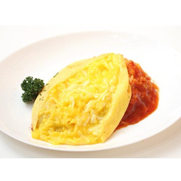 ふわとろオムライス デミグラスソース&ふわとろチーズオムライス 完熟トマトソース 2種セット|1001000|04
