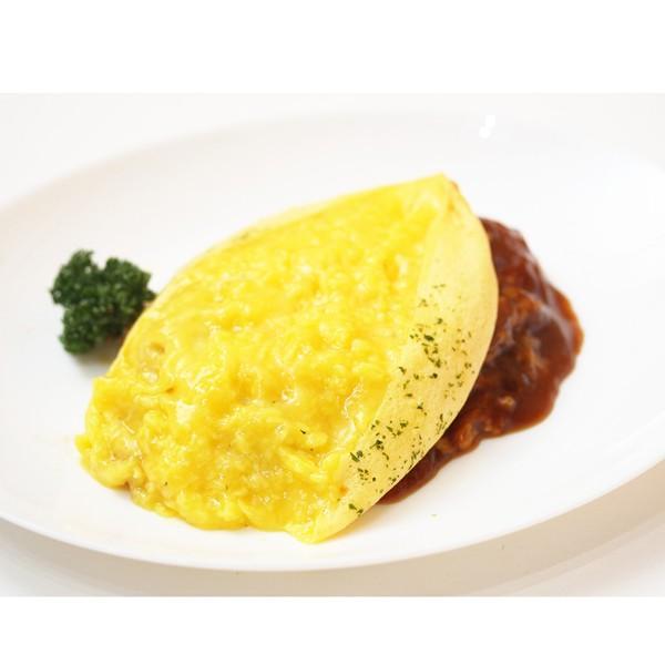 ふわとろオムライス デミグラスソース&ふわとろチーズオムライス 完熟トマトソース 2種セット|1001000|05