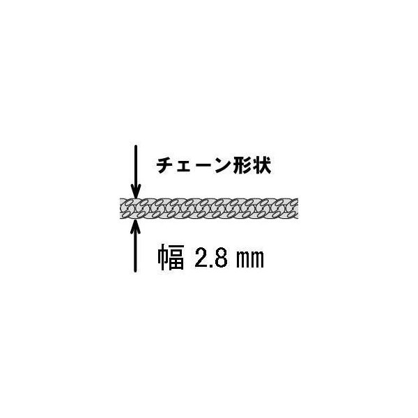 ネックレス メンズ シルバーチェーン シルバーネックレス メンズネックレス喜平ネックレス シルバー925 50cm 2.8mm 燻し加工 喜平チ ェーン きへい キヘイ|100ten|03