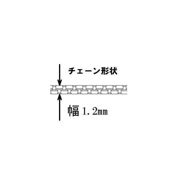 シルバーチェーン ネックレス 55cm 1.2mm ベネチアンチェーン シルバー925 シルバーネックレス シンプル ネックレス メンズネックレス 100ten 04